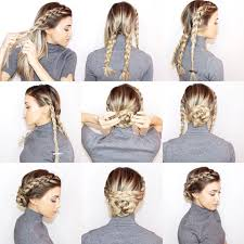 best 25 braided bun hairstyles ideas on pinterest easy braided