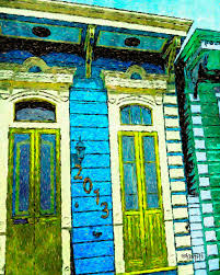 new orleans colorful houses colorful new orleans shotgun house photograph by rebecca korpita