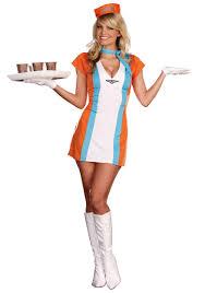 vintage flight attendant costume halloween costumes