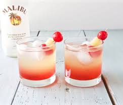 malibu sunset cocktail recipe homemade food junkie