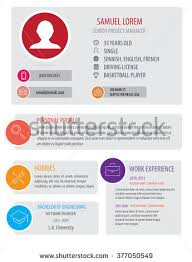 Perfect Resume Templates Business Template Poster Vector Business Flyer Stock Vector