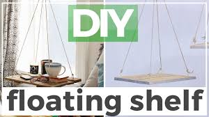 Diy Floating Bookshelves Diy Floating Shelf Inspired By Urban Outfitters Youtube