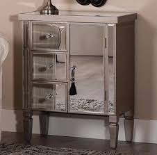 Venetian Mirrored Bedroom Furniture Venetian Mirrored Cabinet Silver Antique Style Sideboard Shabby