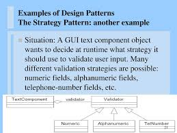 html input pattern alphanumeric software design refinement using design patterns ppt download