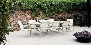 Brown Jordan Patio Furniture Used Cast Aluminum Patio Dining Set In Okc U0026 Edmond Swanson U0027s