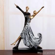 Wine Wedding Gift 2017 European Passionate Lovers Kiss Couple Statue Figurine