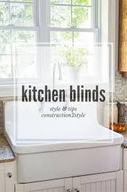 Kitchen Blinds Ideas Kitchen Window Blinds Ideas Home U0026 Interior Design