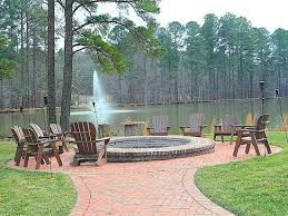 outdoor fire pit on lake picture of the angus barn raleigh