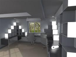 dans un bureau architecte designer intérieur extérieur conception création d un