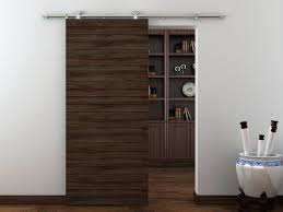Modern Barn Doors Interior by Basora European Modern Stainless Steel Wood Sliding Barn Door