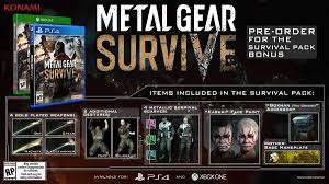 metal gear survive game slated for february release news anime
