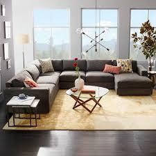 deco canapé gris déco moderne pour le salon 85 idées avec canapé gris salons