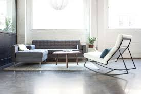Spencer Leather Sectional Living Room Furniture Collection Spencer Loft Bi Sectional Sofa In Assorted Colors Design By Gus