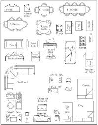 Free Miniature House Plans House by Free Printable Furniture Templates Furniture Template