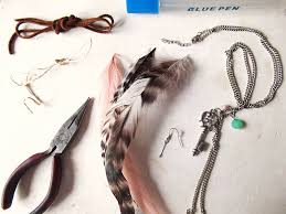 make feather earrings bbs diy feather earrings