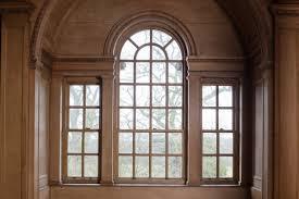 decor brown wood palladian window for vintage living room window