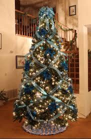 christmas tree with ribbon christmas pinterest christmas