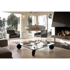 Table Basse Verre Roulette Industrielle by Table à Roues Fontana Arte Voltex