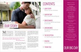 magazine wedding programs magazine wedding programs weddings planning stuff