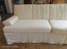 Custom Sofa Slipcovers by Custom Slipcover In Hemp French Linen For A Pair Of Vintage
