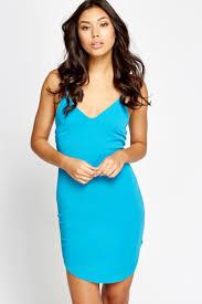 sky blue textured bodycon dress just 5
