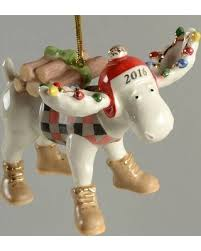 here s a great price on lenox annual moose ornaments with box