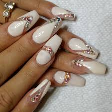 gel nail pattern for the season of advent and fresh