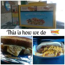 Sonic Breakfast Toaster This Is How We Do Sonic Drive In Outnumbered 3 To 1