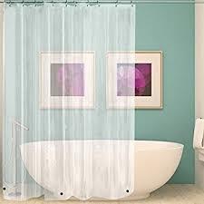Bathtub And Shower Liners Amazon Com Mdesign 10 Gauge Heavy Duty Vinyl Shower Curtain Liner