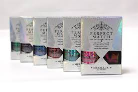 perfect match colors lechat introduces perfect match metallux collection style nails