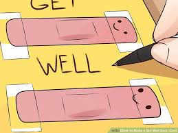 greeting card for sick person 3 ways to make a get well soon card wikihow