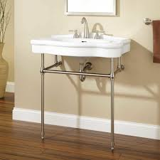 bathroom l nottingham console sink brass stand cool features