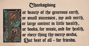 wishes for thanksgiving for friends the estate sale chronicles reopsting arts and crafts