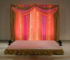 Indian Engagement Decoration Ideas Home Small Cosy Engagement In A House Sofra Aghd Backdrop
