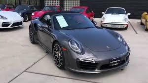 porsche 911 cpo 2016 porsche cpo 911 turbo s cab with kirk 719 219 5015