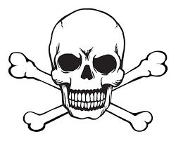 skull stencils free printable skull and crossbones free