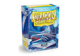 dragon shield blue matte card sleeves 100 count pack breakaway