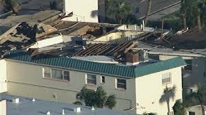 hurricane matthew causes severe damage to hotels in daytona beach