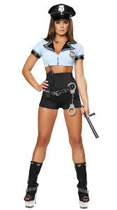 Womens Halloween Costumes Police Woman Halloween Costume 8pcs Picture