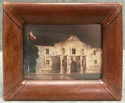 leather picture frames alamo leather frame by mercier gallery