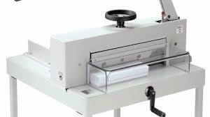 triumph 4705 paper cutter by mbm youtube