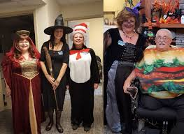 Halloween Costumes Senior Citizens Remarkable Moments Extendicare Maple