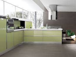 Contemporary Kitchen Contemporary Kitchen Glass Wooden Lacquered Systema Aerre