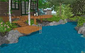 treehouse swimming pool design gallery of given pool designs llc