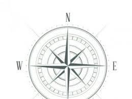 compass sketch free vectors ui download