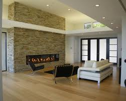 pictures of contemporary living rooms with fireplaces