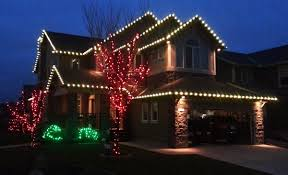 and white christmas lights christmas light hanging service decorations photo gallery