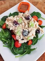 greek yogurt chicken salad with grapes and celery u2022 emily j goodman