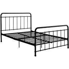 dhp brooklyn iron bed black multiple sizes walmart com