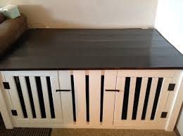 Dog Crate Furniture Bench Ana White Double Dog Coffee Table Crate Diy Projects